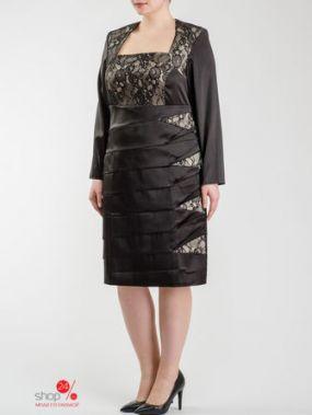 Платье Look At Fashion, цвет черный