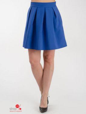 Юбка Look At Fashion, цвет ярко-синий
