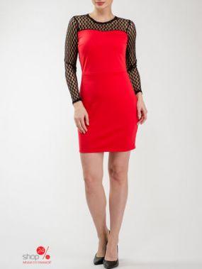 Платье Look At Fashion, цвет красный