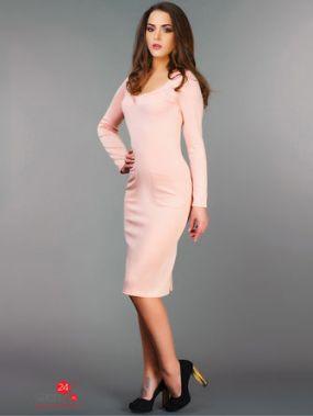 Платье Look At Fashion, цвет бледно-розовый