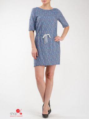 Платье Look At Fashion, цвет синий, красный
