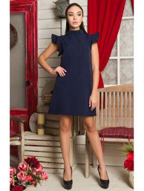 Платье FLF, цвет синий