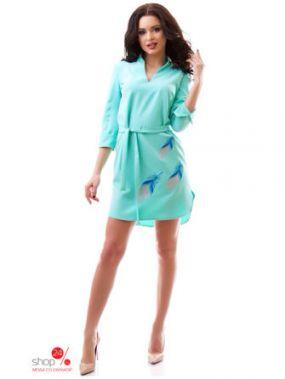 Платье Dioriss, цвет бирюзовый