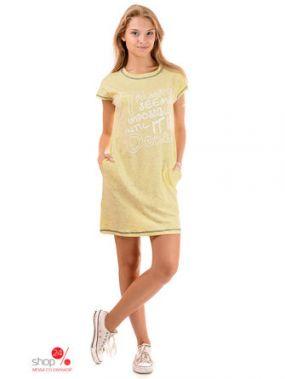 Платье Loran, цвет желтый