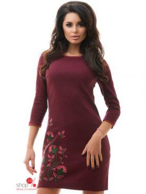 Платье Tivardo, цвет бордовый