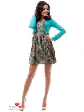 Платье Tivardo, цвет бирюзовый