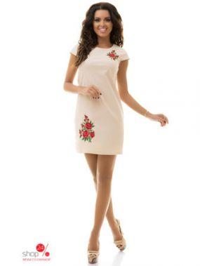 Платье Tivardo, цвет бежевый