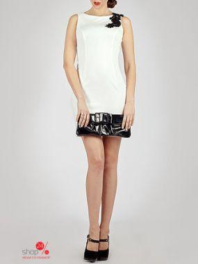Платье O.Jen, цвет белый, черный