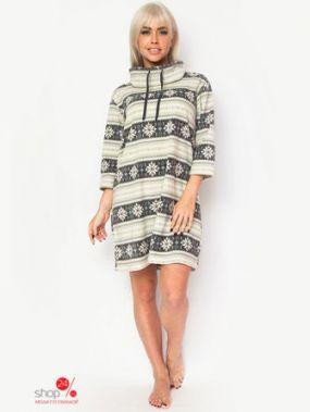 Платье Vis-a-vis, цвет серый