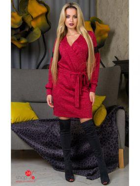 Платье The First Land of Fashion, цвет красный