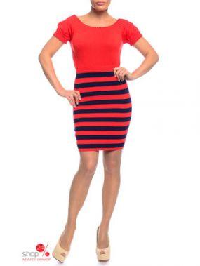 Платье Laura Lombardi, цвет оранжевый