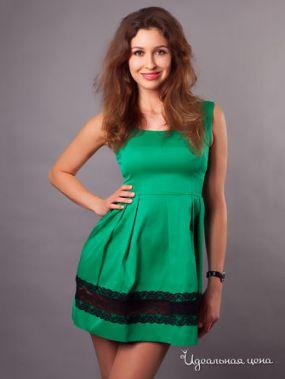 Платье Fedel, цвет зеленый