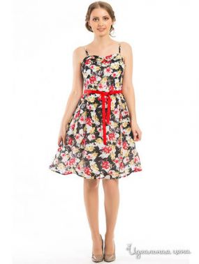 Платье Remix, цвет мультиколор