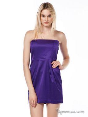 Платье Aspesi, цвет фиолетовый
