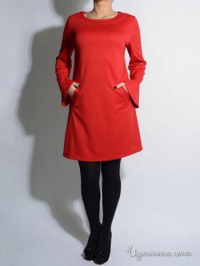 Платье Eva Milano, цвет красный