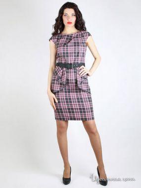 Платье Daloria, цвет серый, розовый