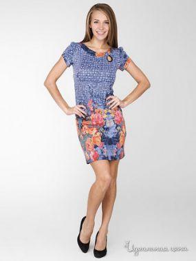 Платье La Regina, цвет синий