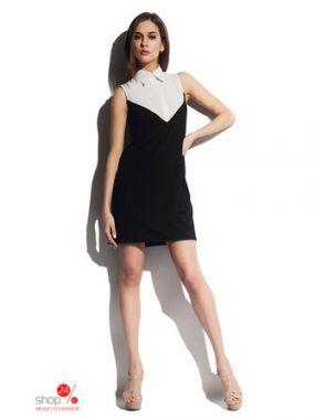 Платье Cardo, цвет черный, белый