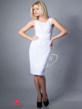 Платье V & V, цвет белый