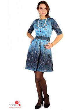 Платье Fleuretta, цвет синий