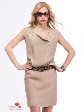 Платье Viaggio Donna, цвет бежевый