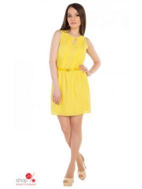 Платье uaMode, цвет желтый