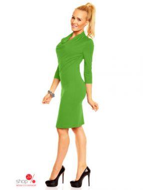 Платье LENTAL, цвет зеленый