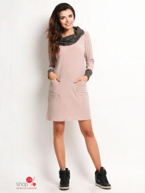 Платье Awama, цвет бежевый