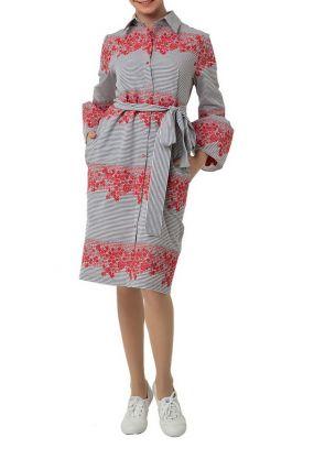 Платье-рубашка Adzhedo