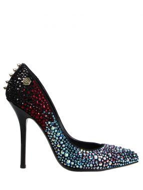Туфли-лодочки с кристаллами