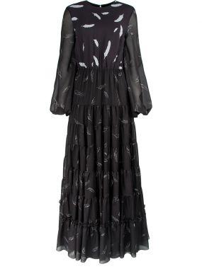 Платье-макси с принтом