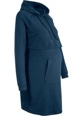 Платье-худи для беременных и кормящих мам