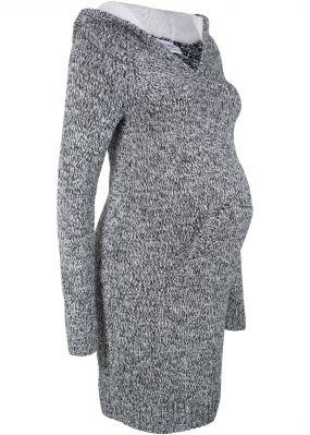 Платье для беременных с капюшоном на подкладке