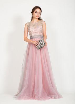 Вечернее платье с пайeтками MR067B