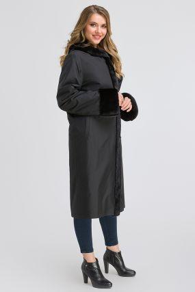 Шведское двустороннее пальто на меху