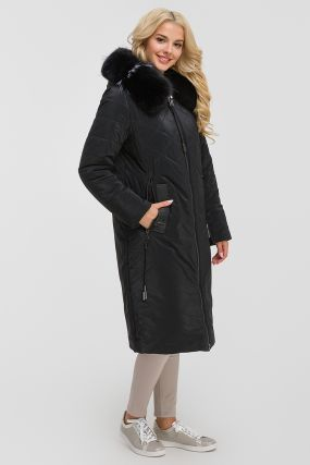 Длинное осеннее женское пальто на верблюжьей подкладке