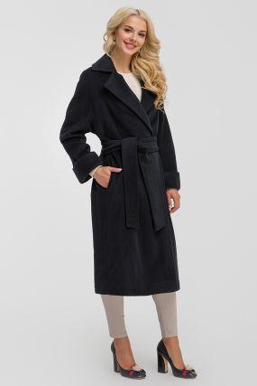 Женское пальто из шерсти с кашемиром