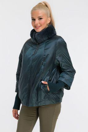 Женская демисезонная утепленная куртка из Италии