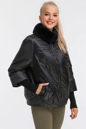 Женская куртка утепленная верблюжьей шерстью