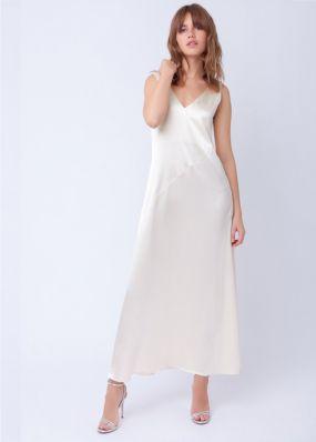 Стильное платье с разрезом на ноге 190770A