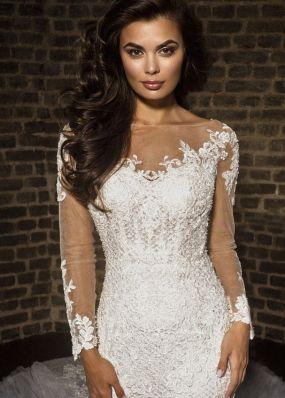 Свадебное платье рыбка LB003