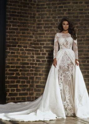 Свадебное платье трансформер LB006