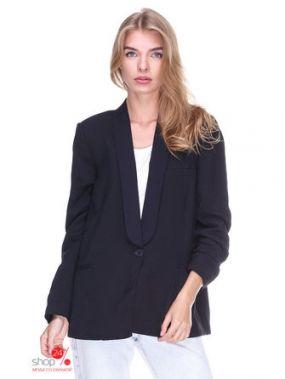 Пиджак Mango, цвет черный