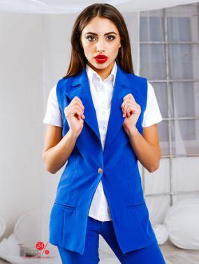Жилет Look At Fashion, цвет ярко-синий