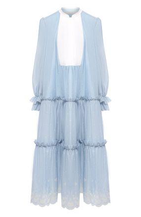 Хлопковое платье Ulyana Sergeenko