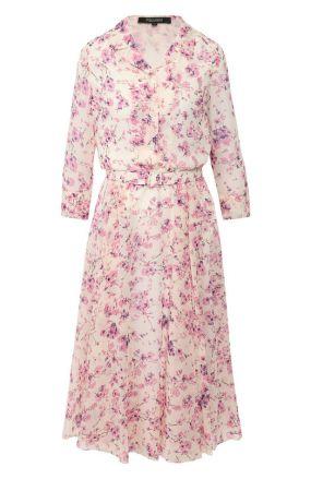 Платье с поясом Poustovit
