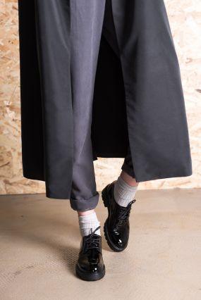 Полуботинки Vagabond KENOVA с круглым носком черный лак (36)