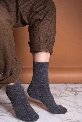 Носки TWO RAIN шерстяные темно-серого цвета (36-42)