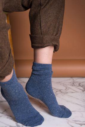 Носки TWO RAIN шерстяные голубого цвета (36-42)