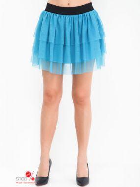 Юбка Terranova, цвет голубой